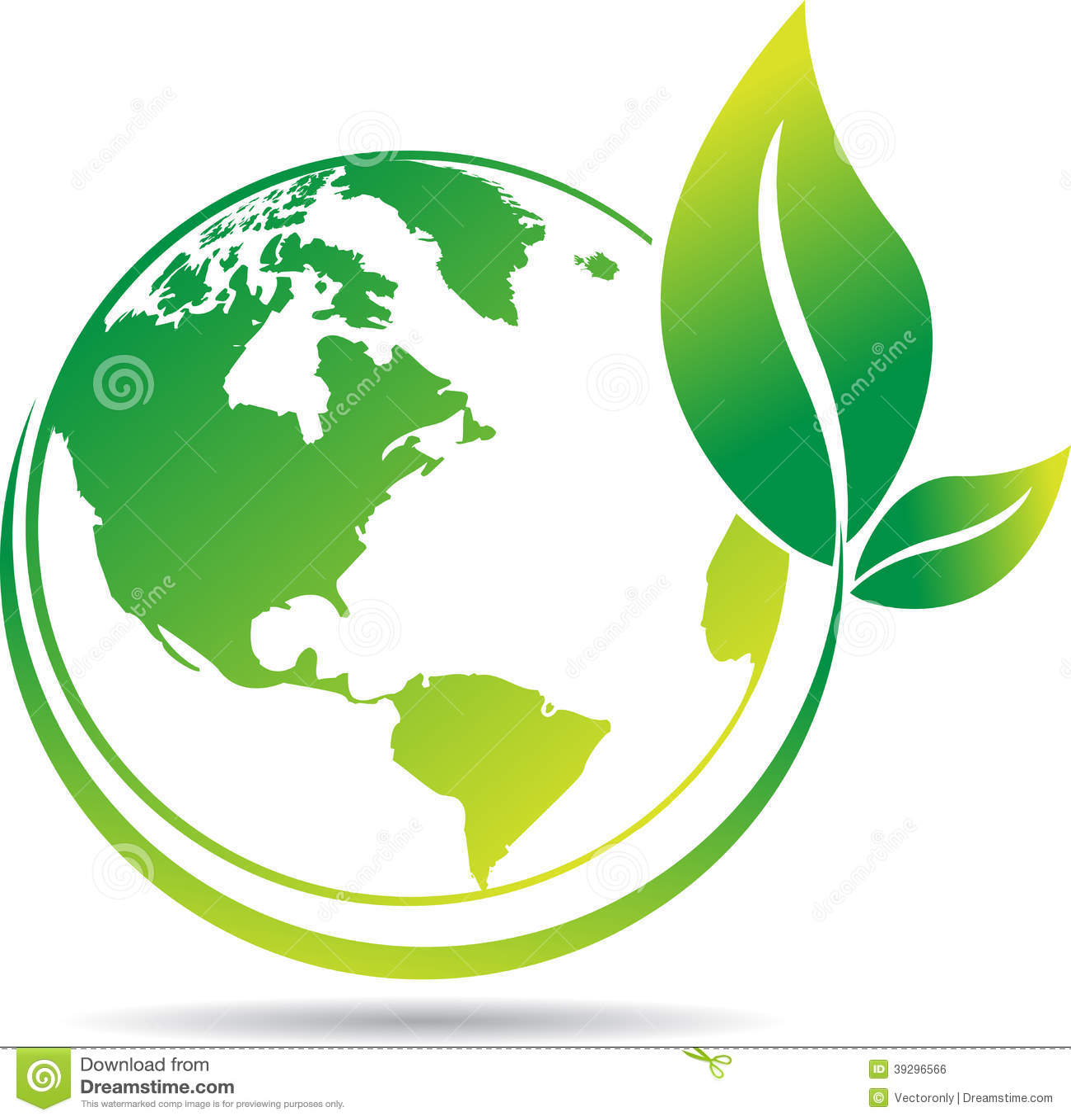 Globe Tree Stock Vector - Image: 39296566