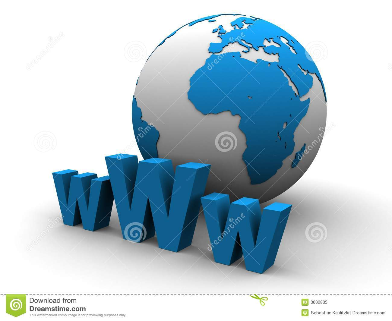 Globe and www sign stock illustration image of networking for Internet be and you