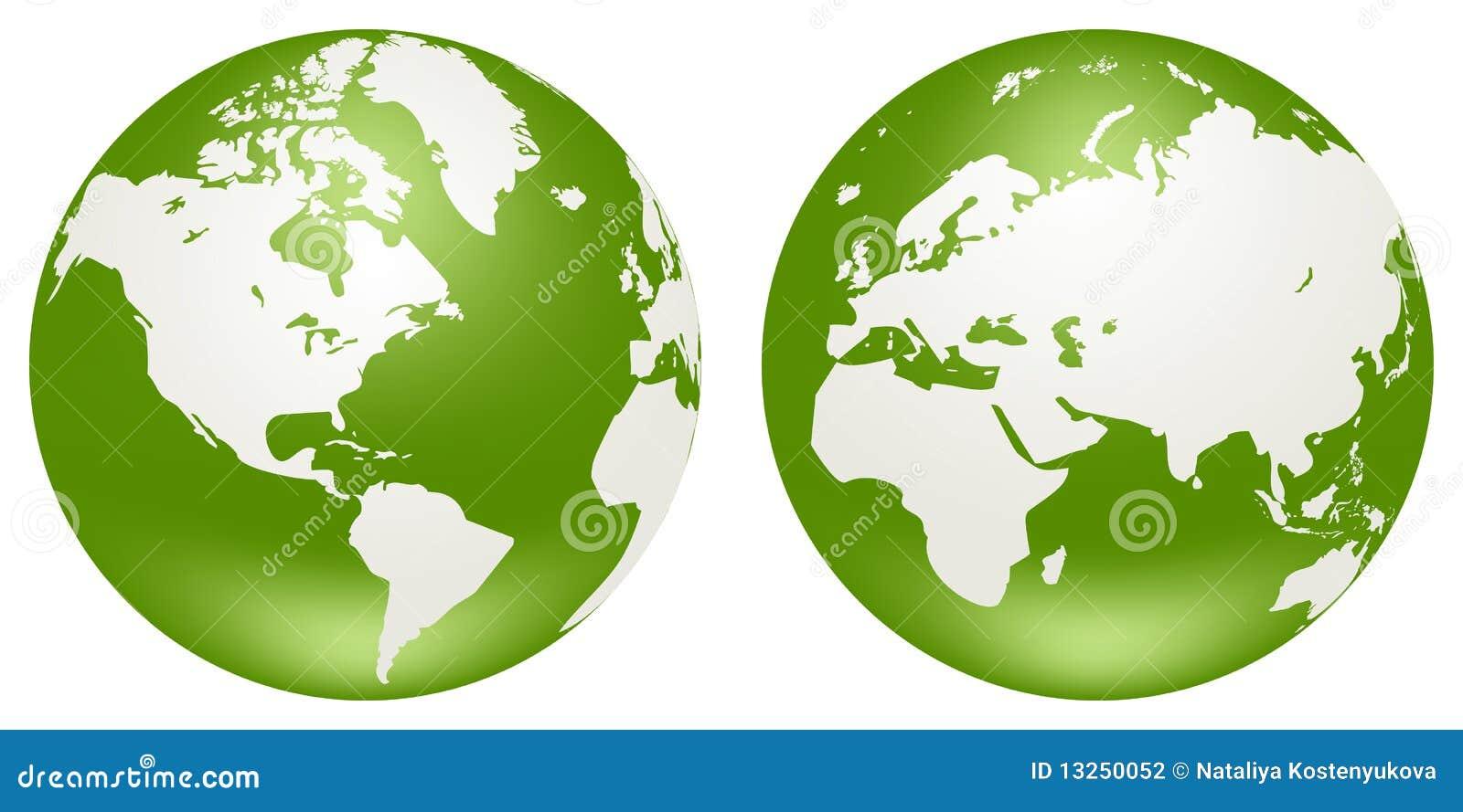 Globes of Earth