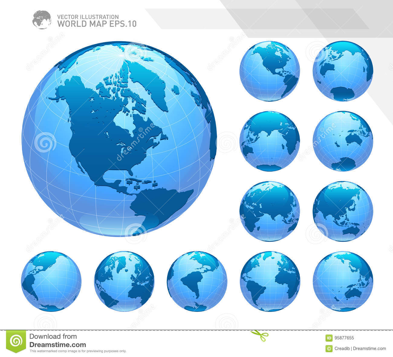 Globes showing earth with all continents digital world globe vector globes showing earth with all continents digital world globe vector dotted world map vector flat australia gumiabroncs Choice Image