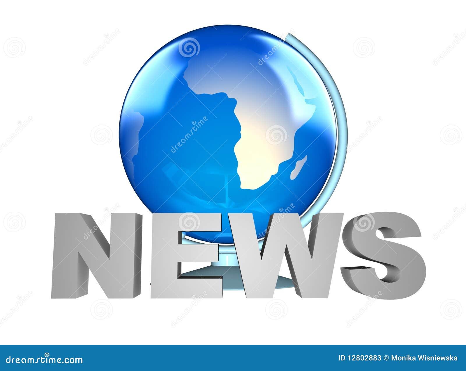 Globo da notícia e da terra