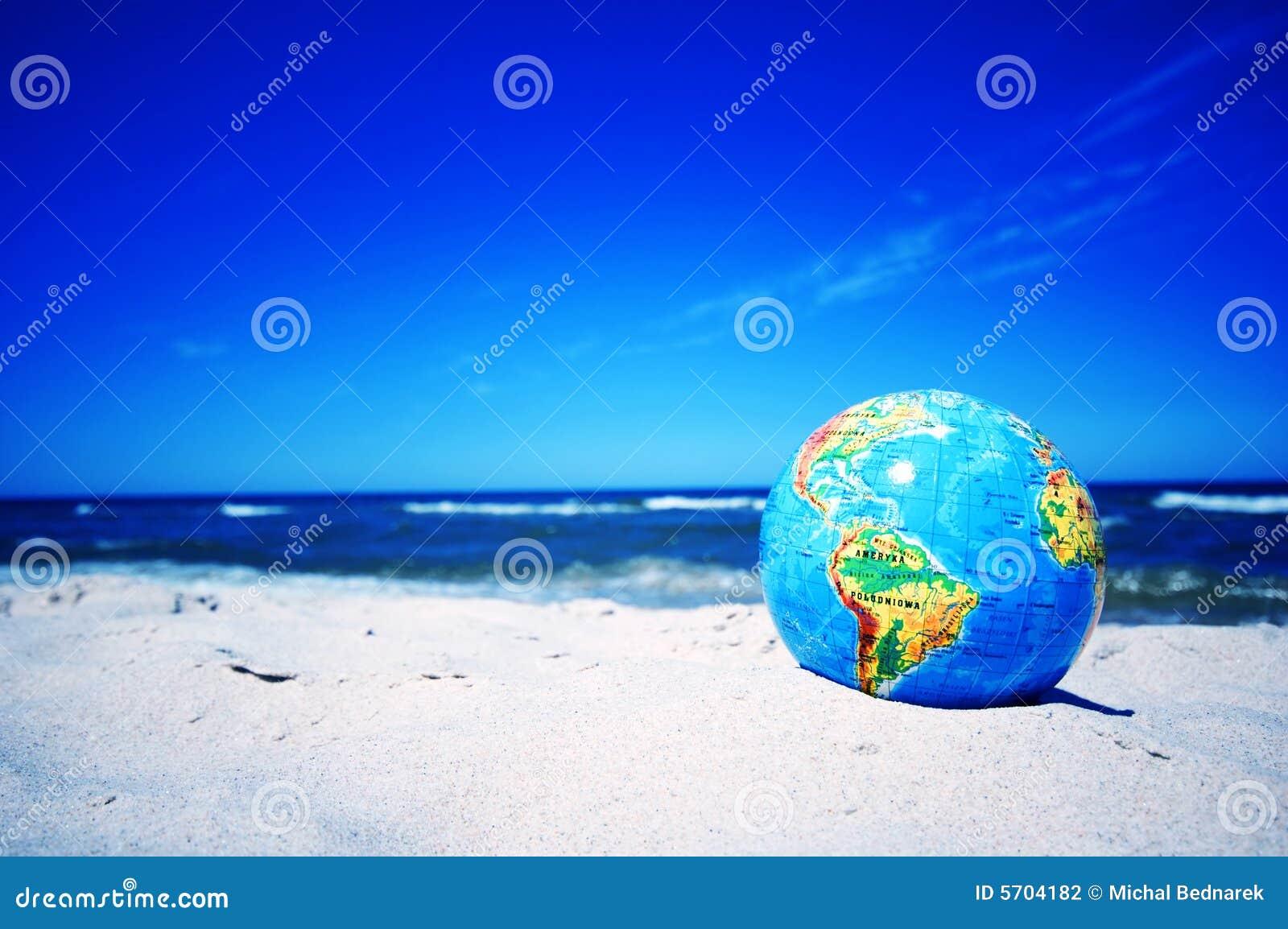 Globo de la tierra. Imagen conceptual