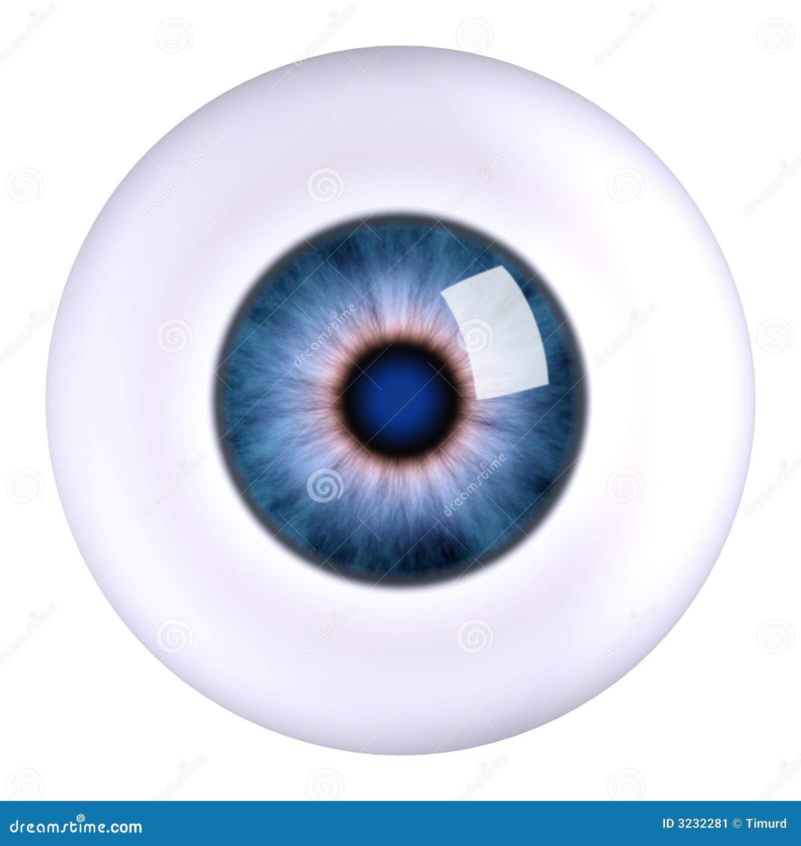Globo del ojo del ojo