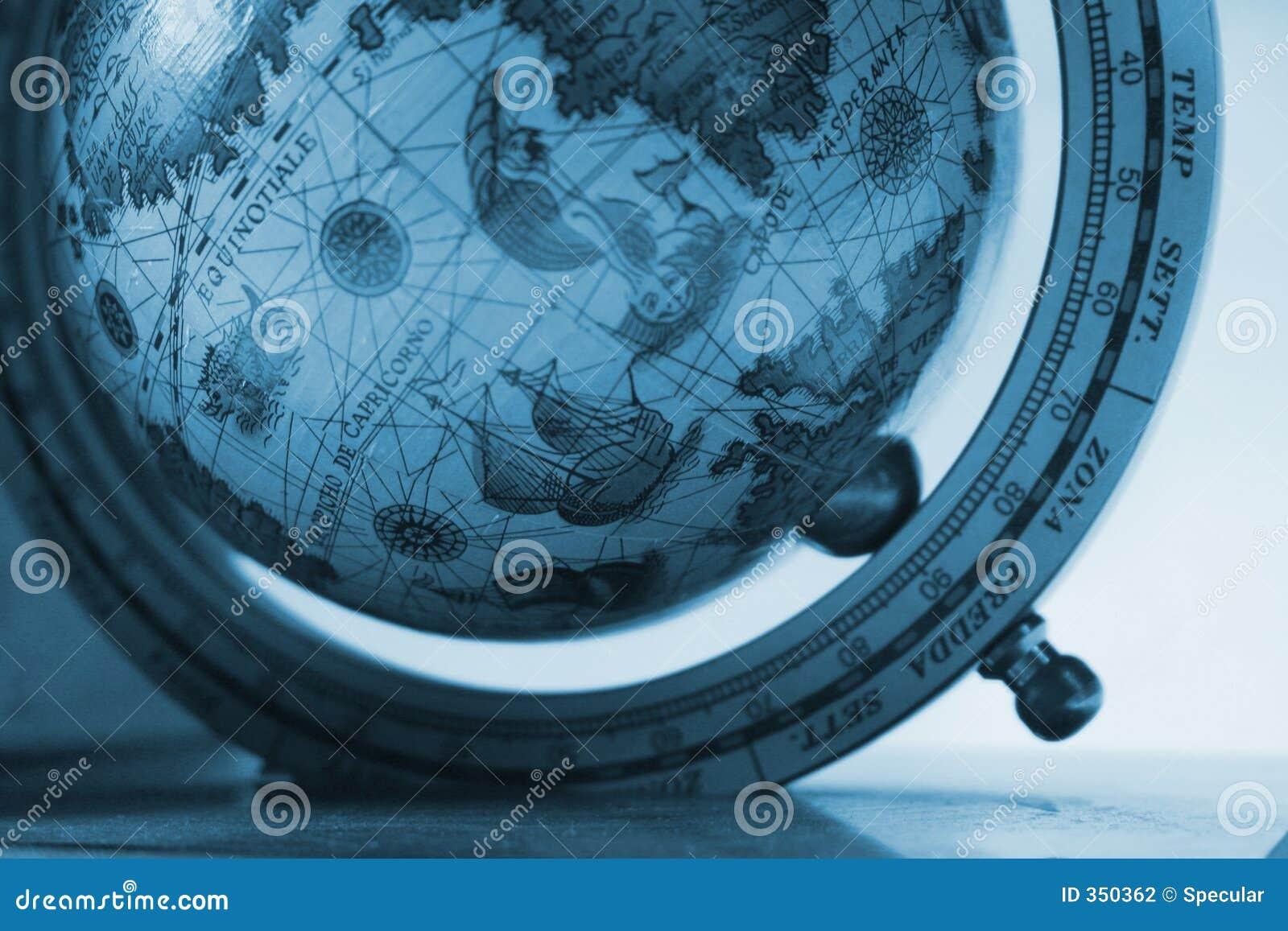 Globo dell esploratore in anticipo