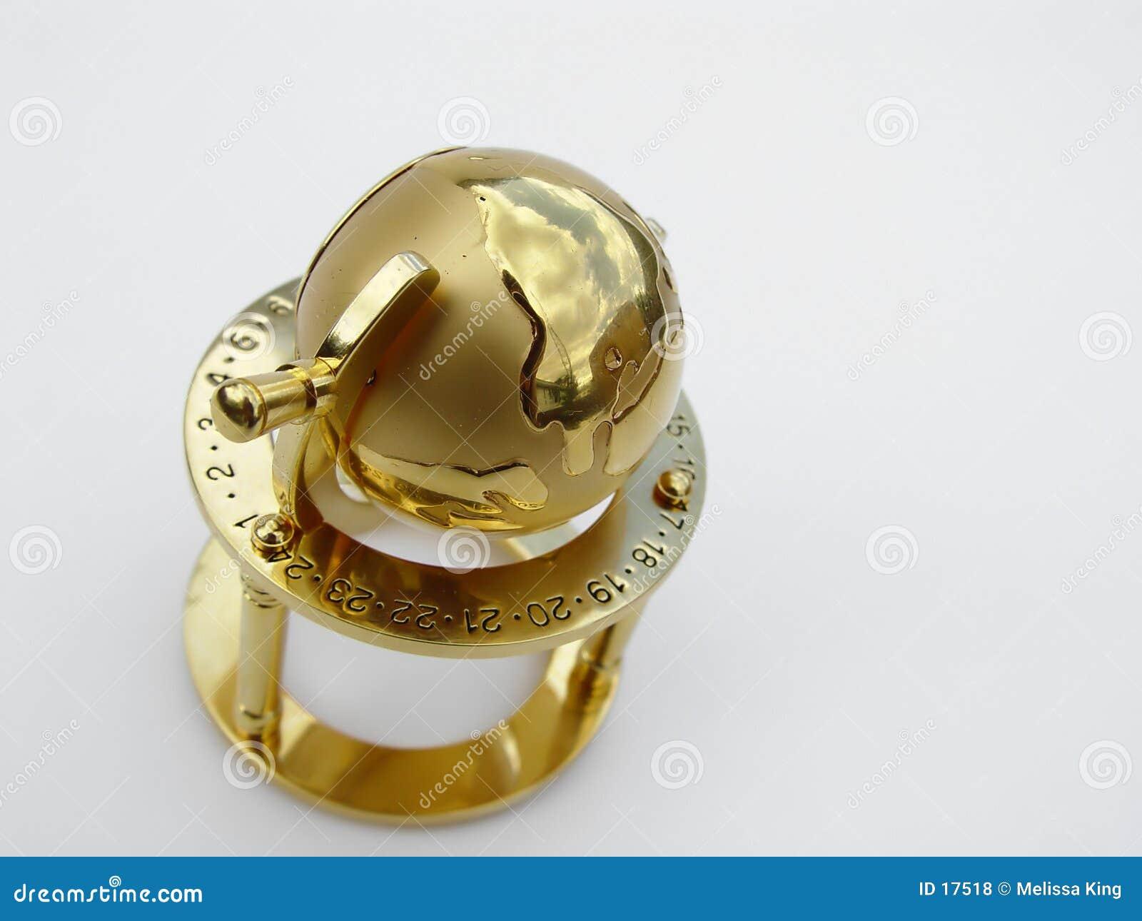 Globo dourado