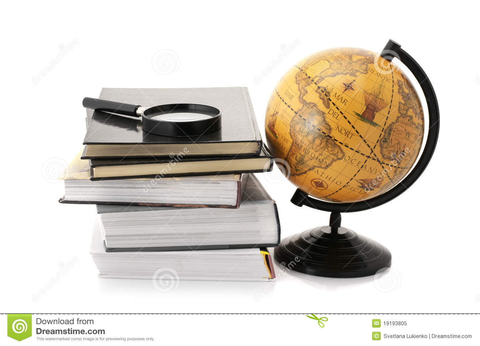 Globo e livros