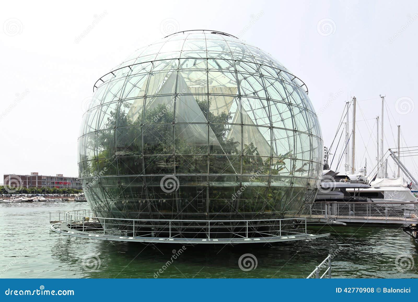 Globo Genova di biosfera