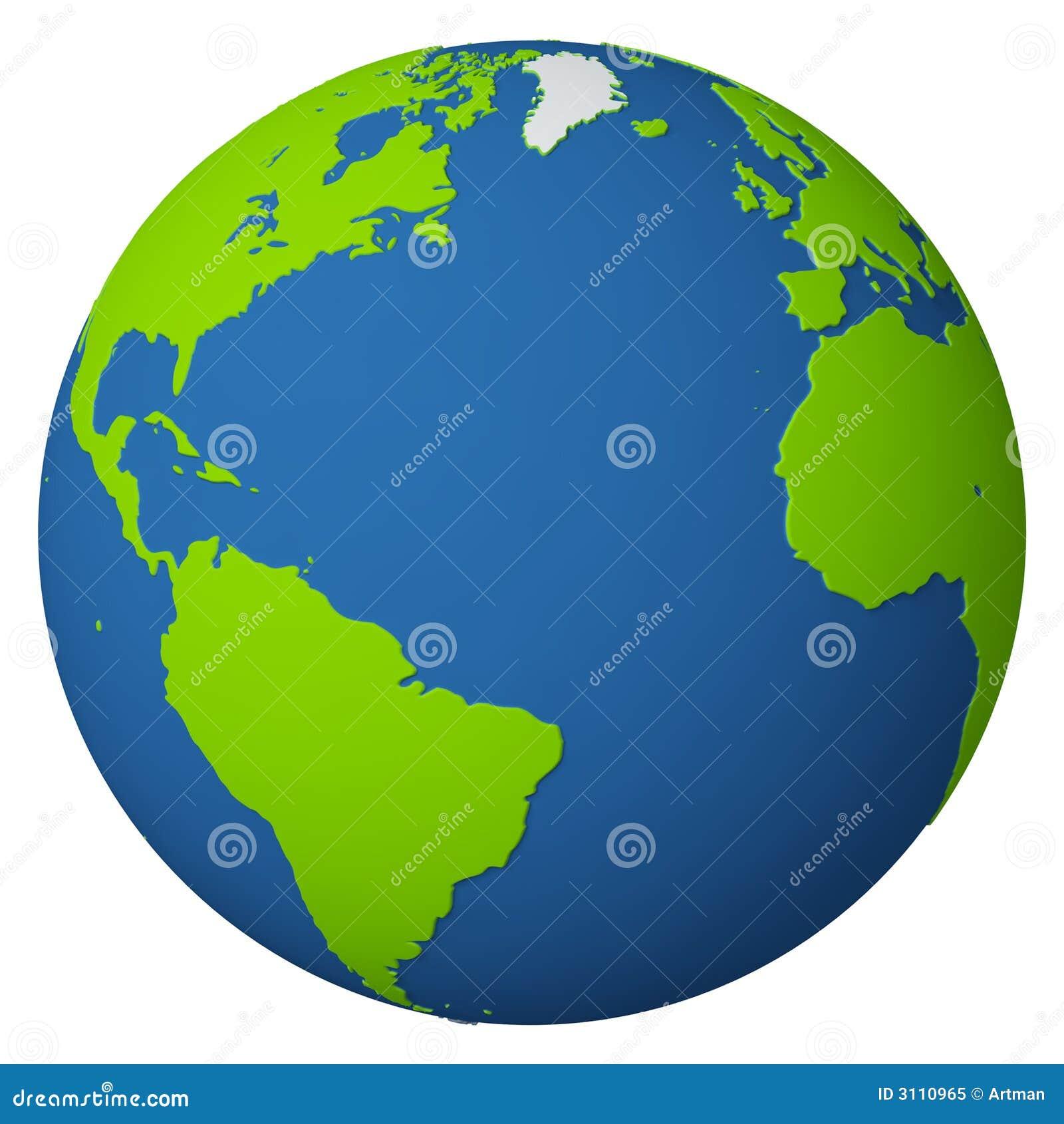 Globo/Oceano Atlântico