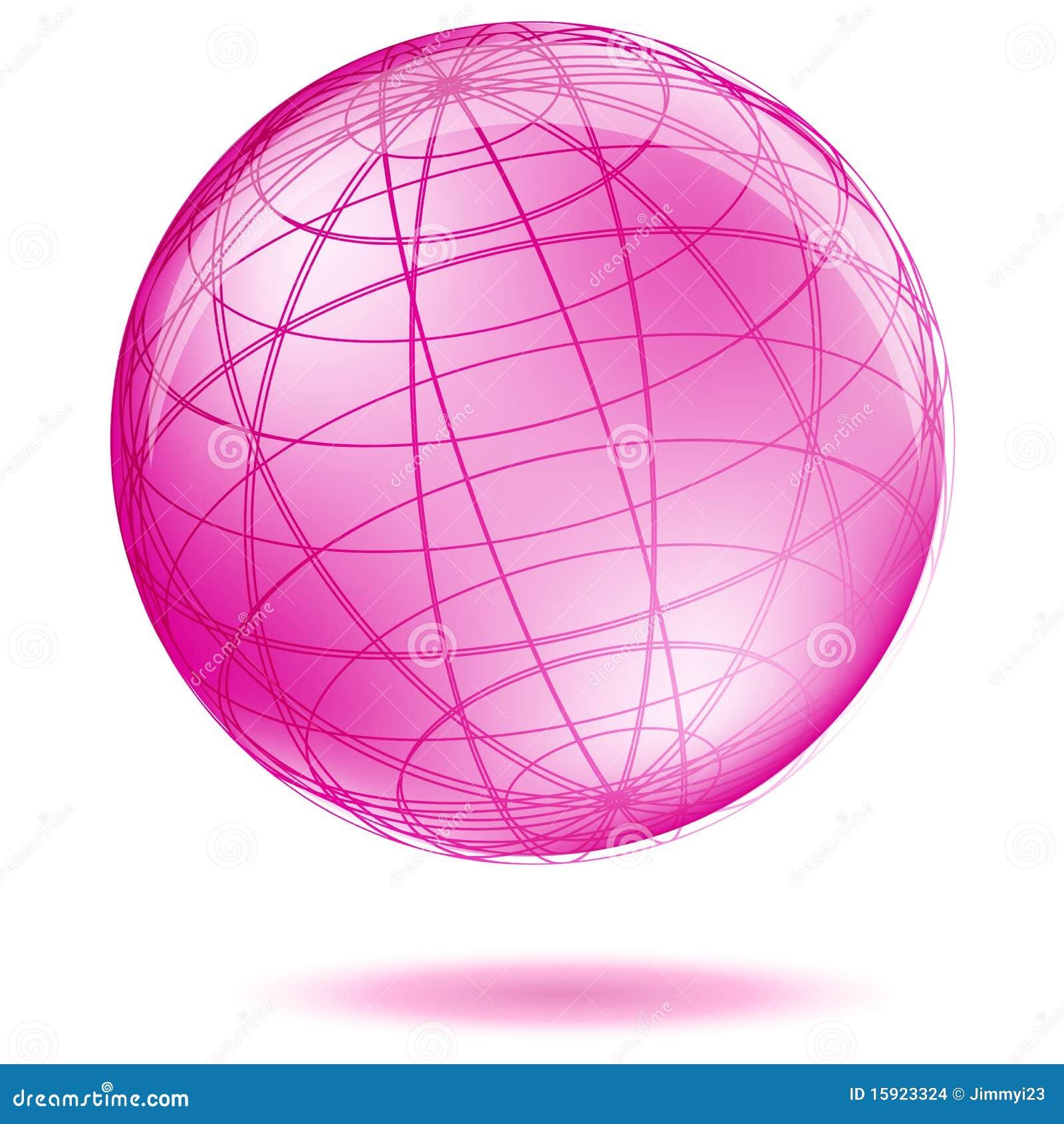 Globo rosado