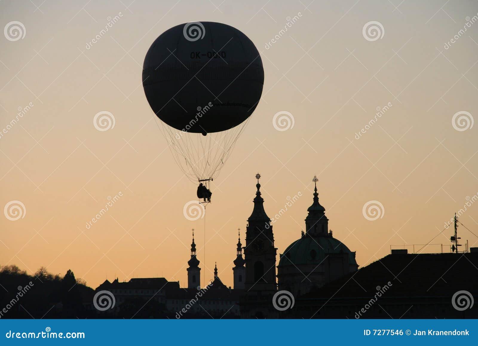 Globo sobre Praga