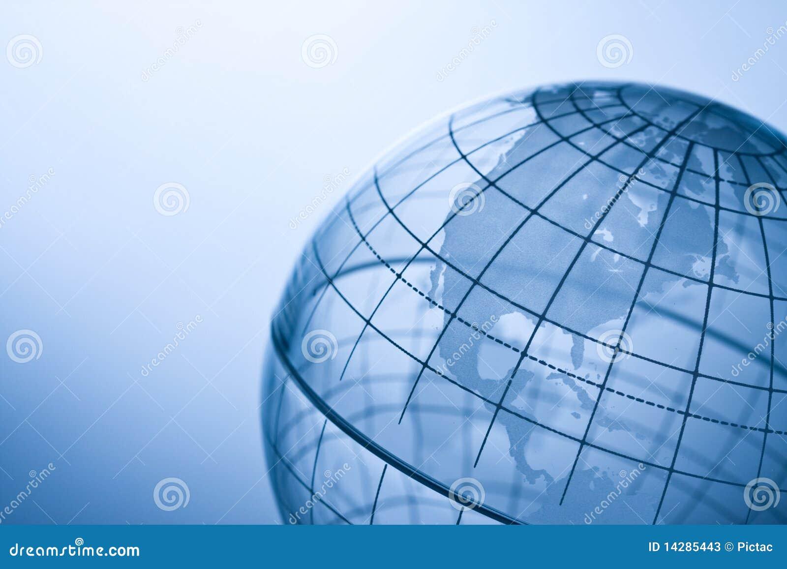 Globo transparente