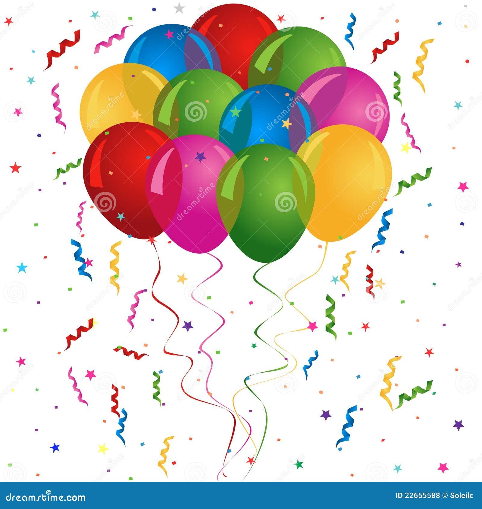 globos para el cumplea os o el partido fotos de archivo On imagenes de globos de cumpleanos