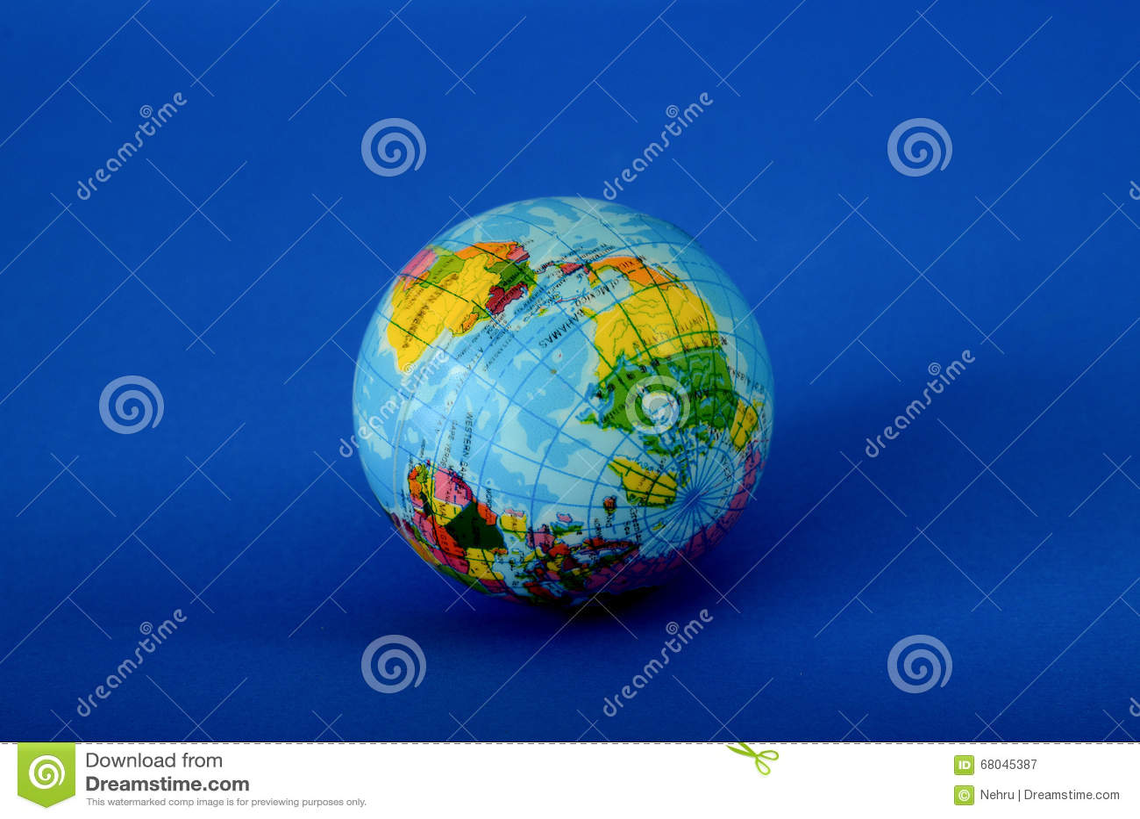Globusstuk speelgoed bal