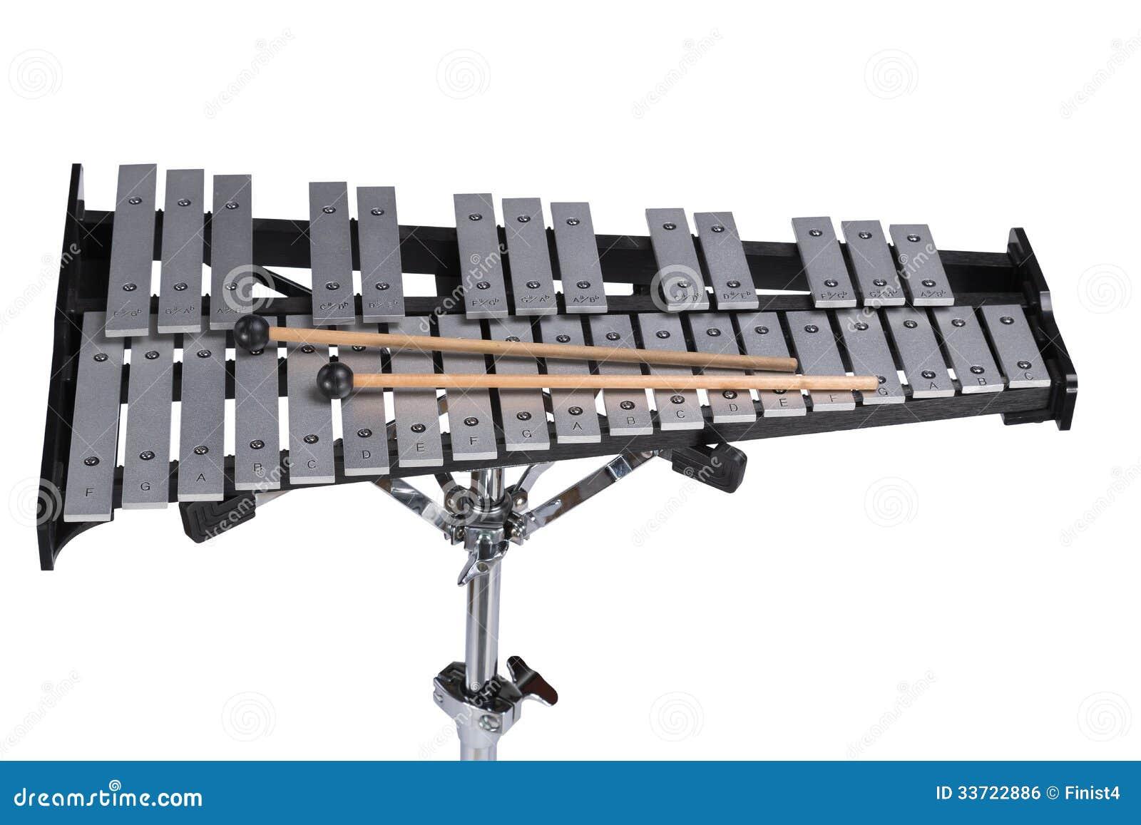 Glockenspiel Royalty Free Stock Image - Image: 33722886