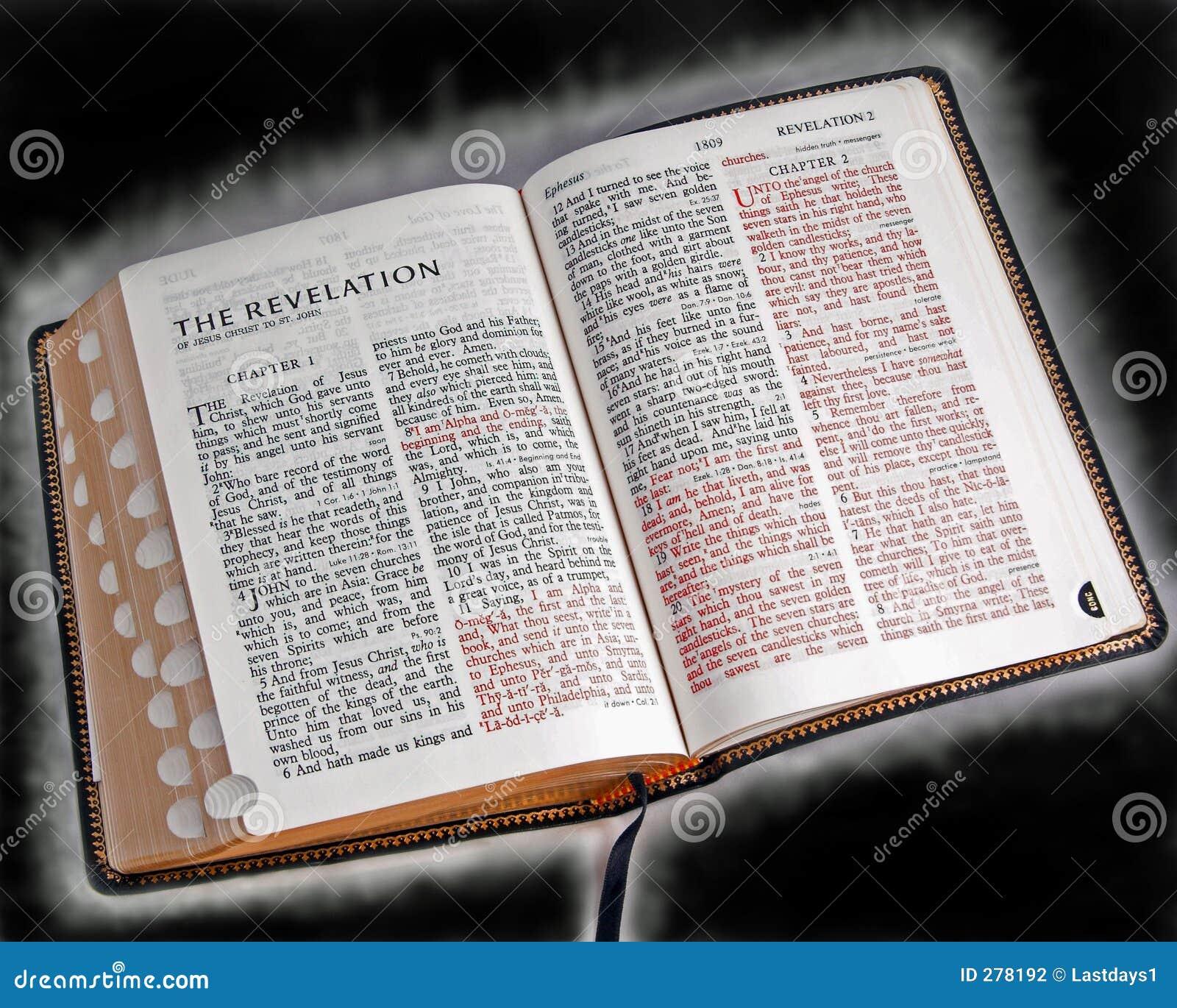 Gloeiende bijbel
