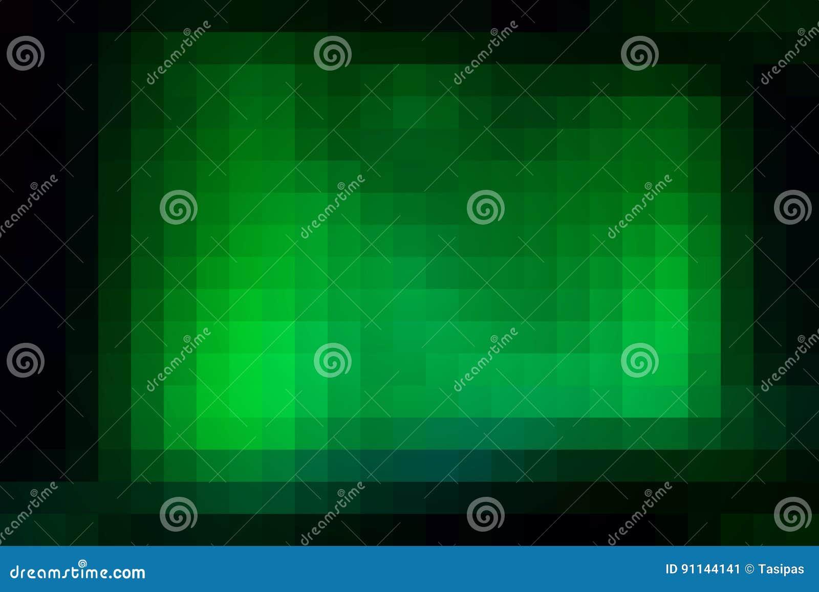 Groene Mozaiek Tegels : Gloeiende vierkante de tegelsachtergrond van het neon groene mozaïek