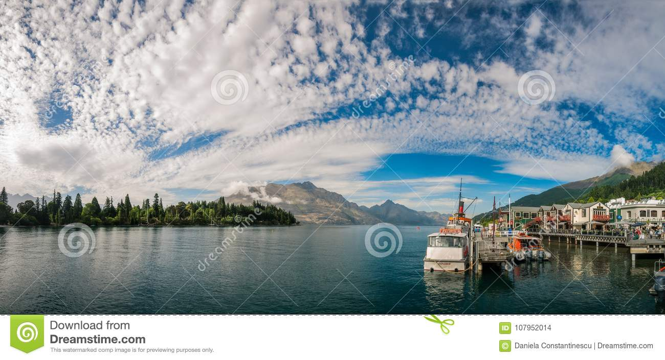 Glorious morning in Queenstown Harbour