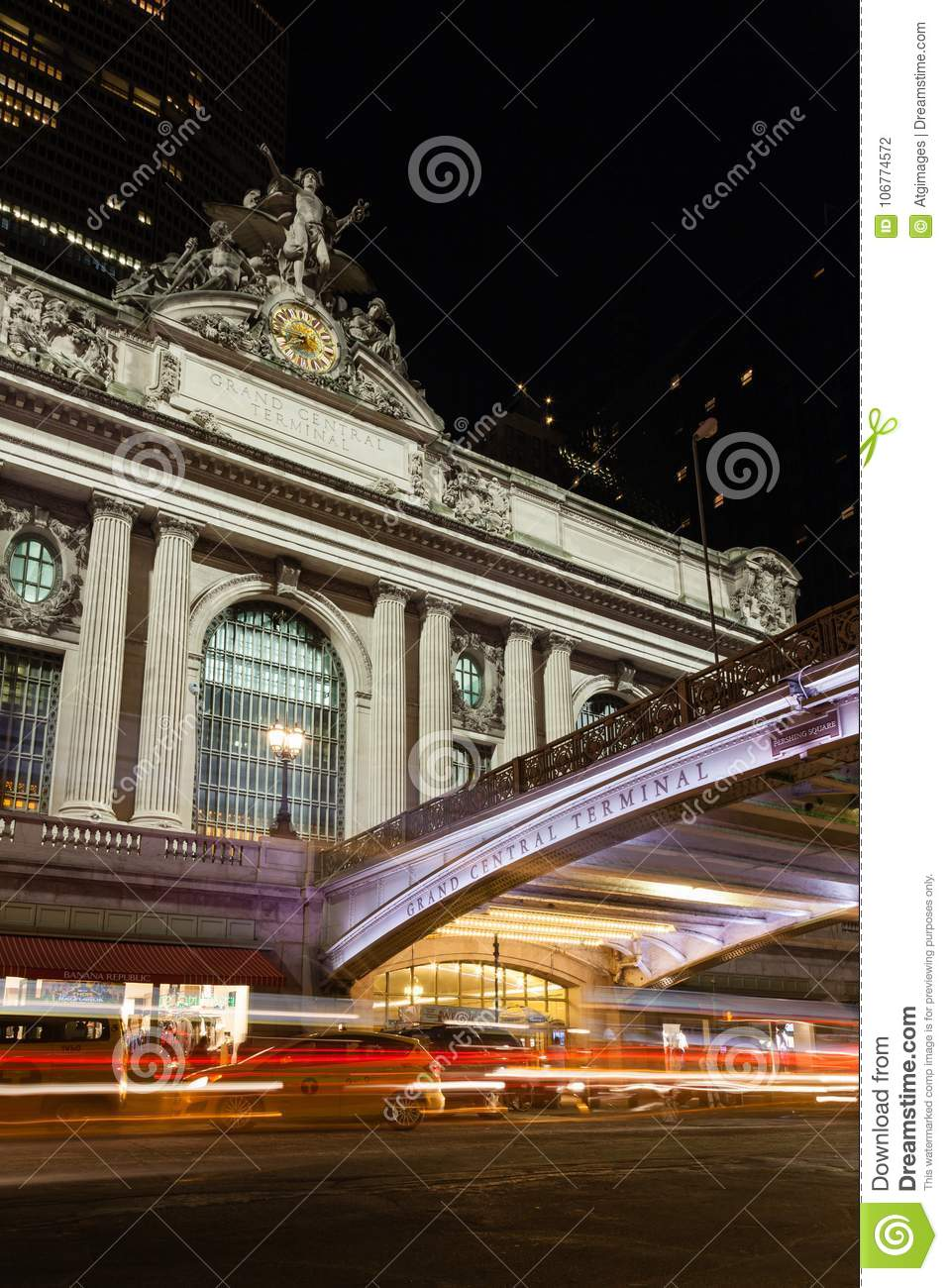 The Glory of Commerce sculpture adorns Grand Central Station
