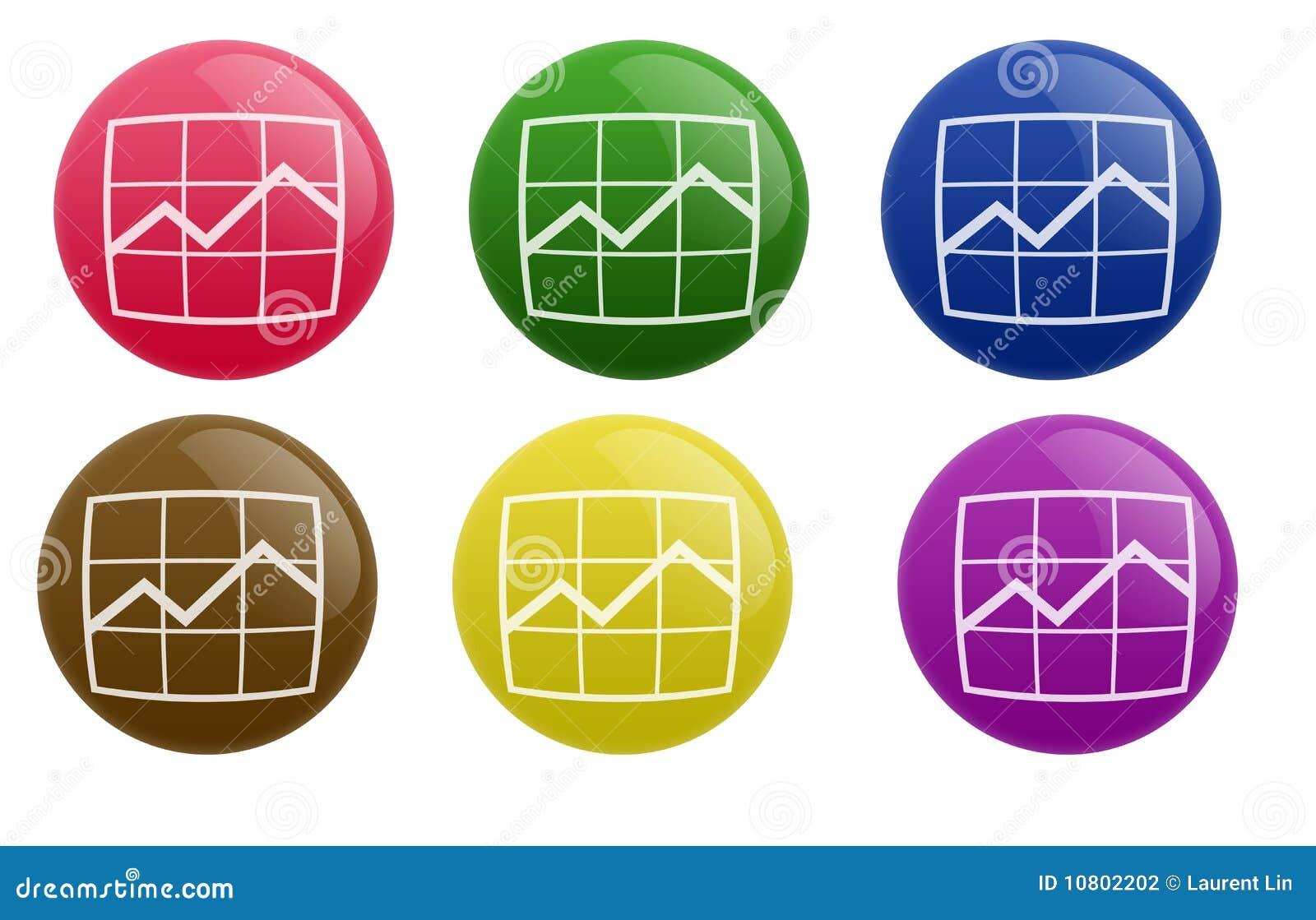 Download Glossy Progress Button stock illustration. Illustration of generated - 10802202