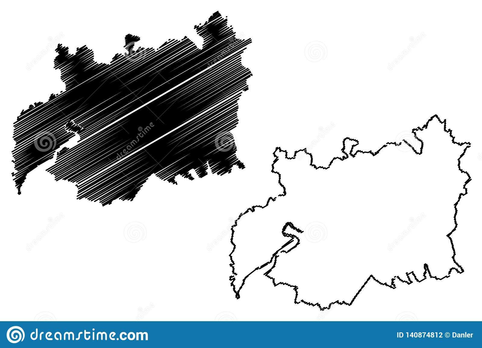 Map Of England Gloucestershire.Gloucestershire Map Vector Stock Vector Illustration Of Archipelago