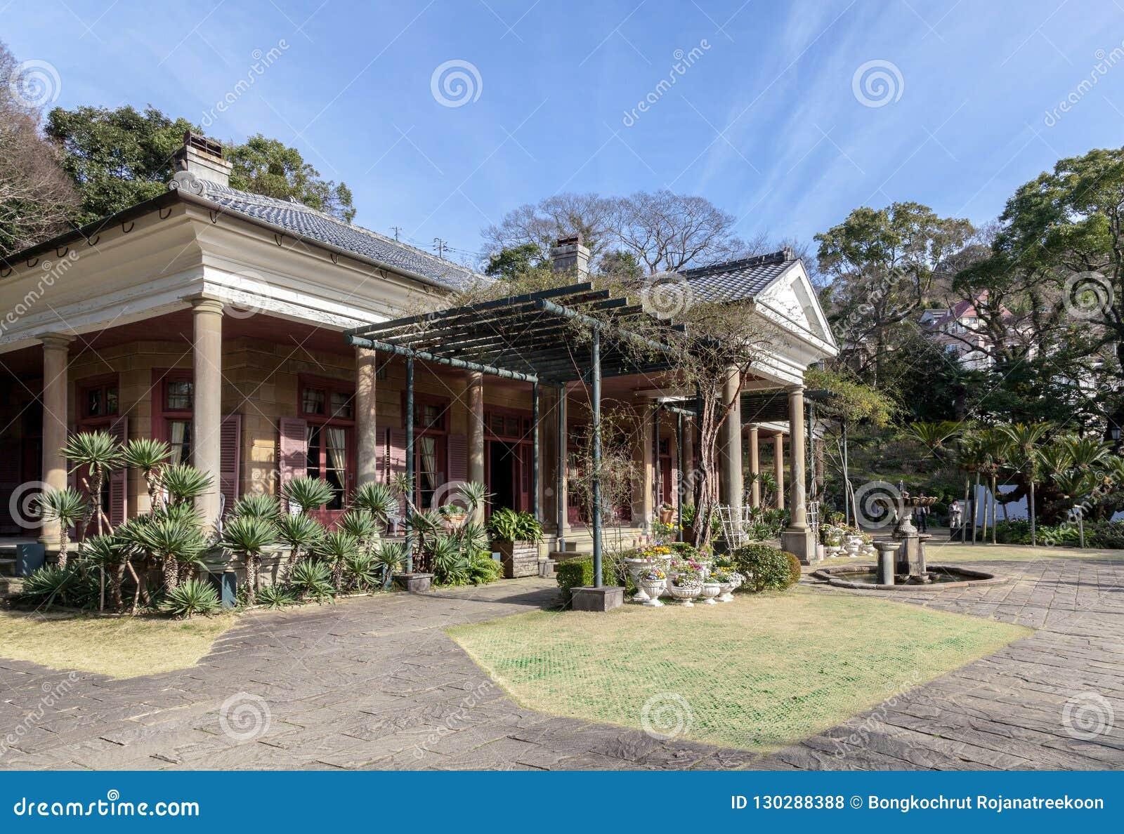 Glover Garden è un parco a Nagasaki, Giappone ha costruito per Thomas Blake Glover, la più vecchia casa occidentale di stile