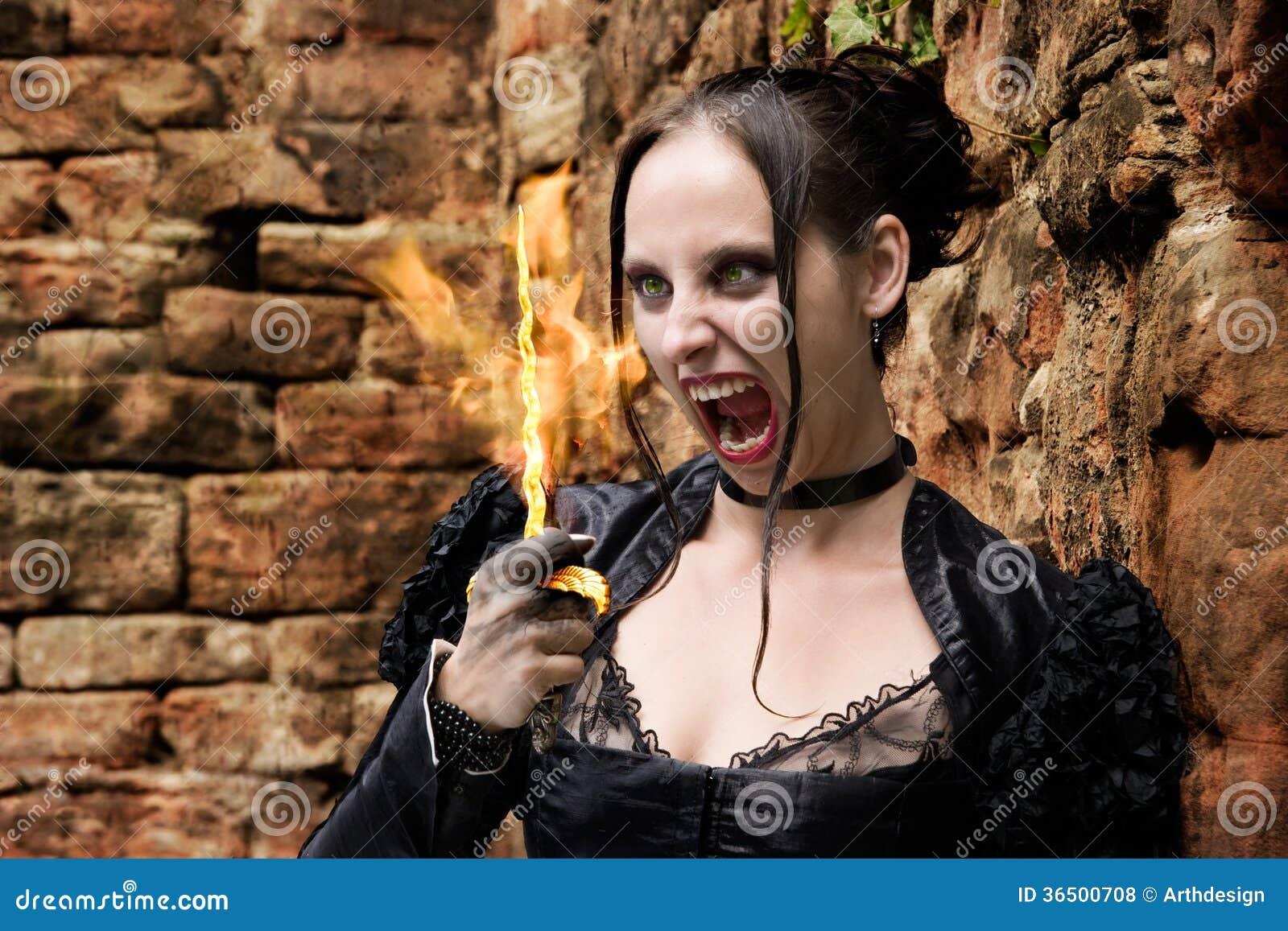 Glowing Dagger Stock Photo. Image Of Culture, Ache