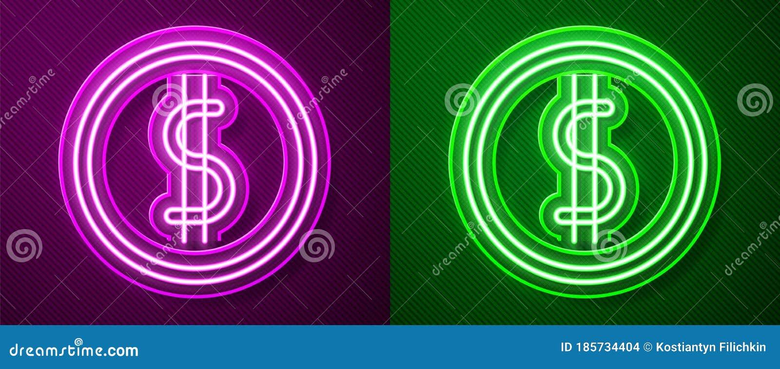 Neon Green Dollar Sign Stock Illustrations 241 Neon Green Dollar Sign Stock Illustrations Vectors Clipart Dreamstime