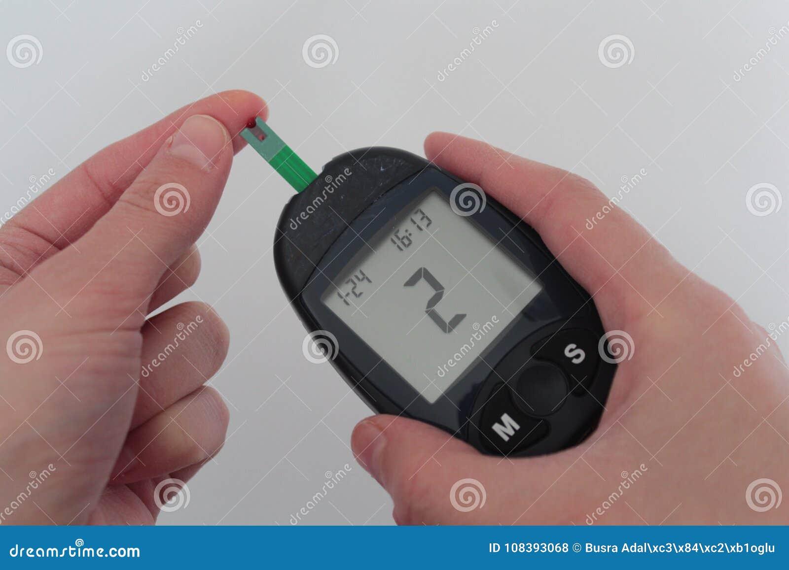 Glucosa Sana Del Nivel De Sangre Del Azúcar Foto de archivo - Imagen ...