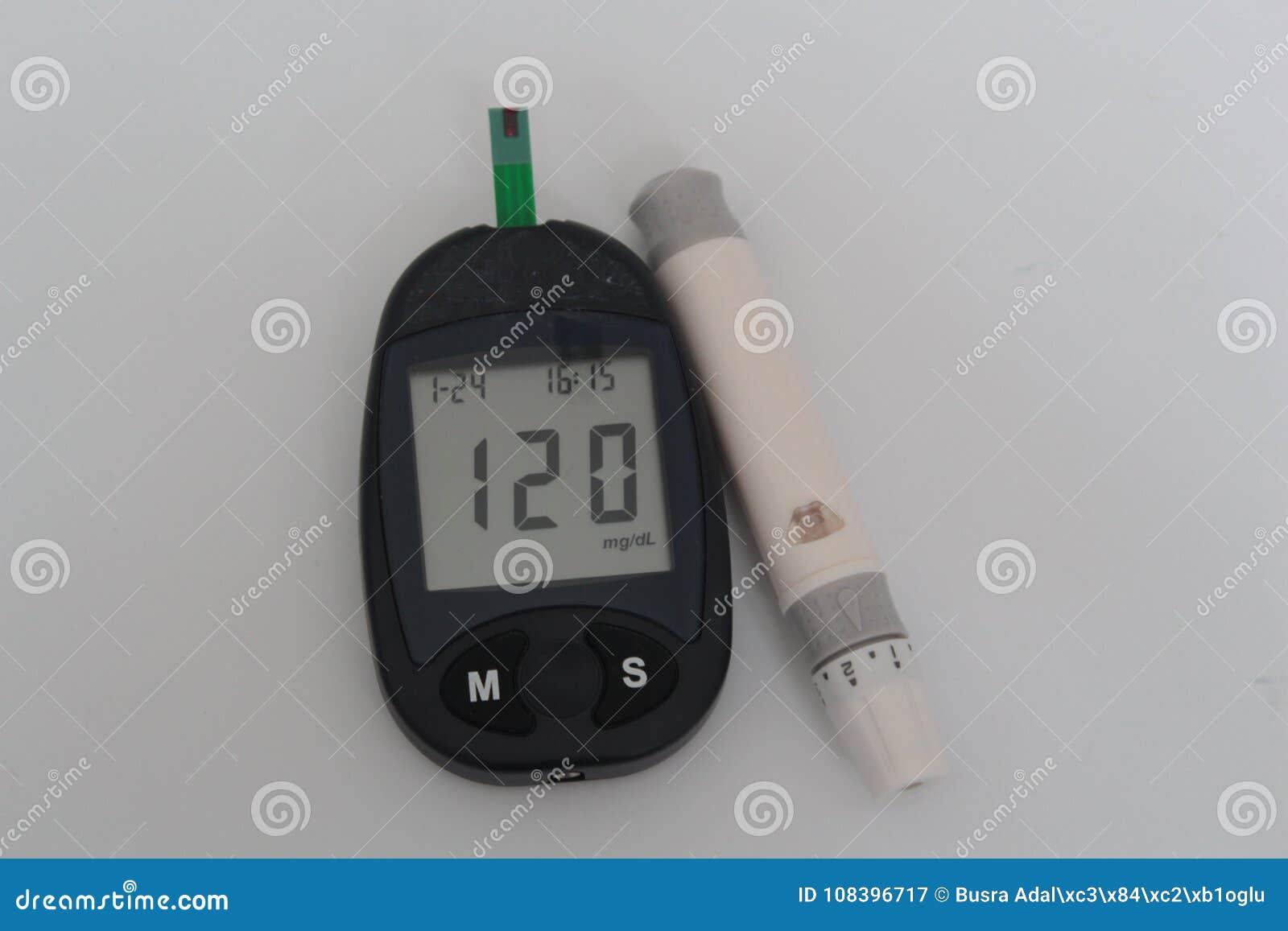 Glucosa Sana Del Nivel De Sangre Del Azúcar Imagen de archivo ...
