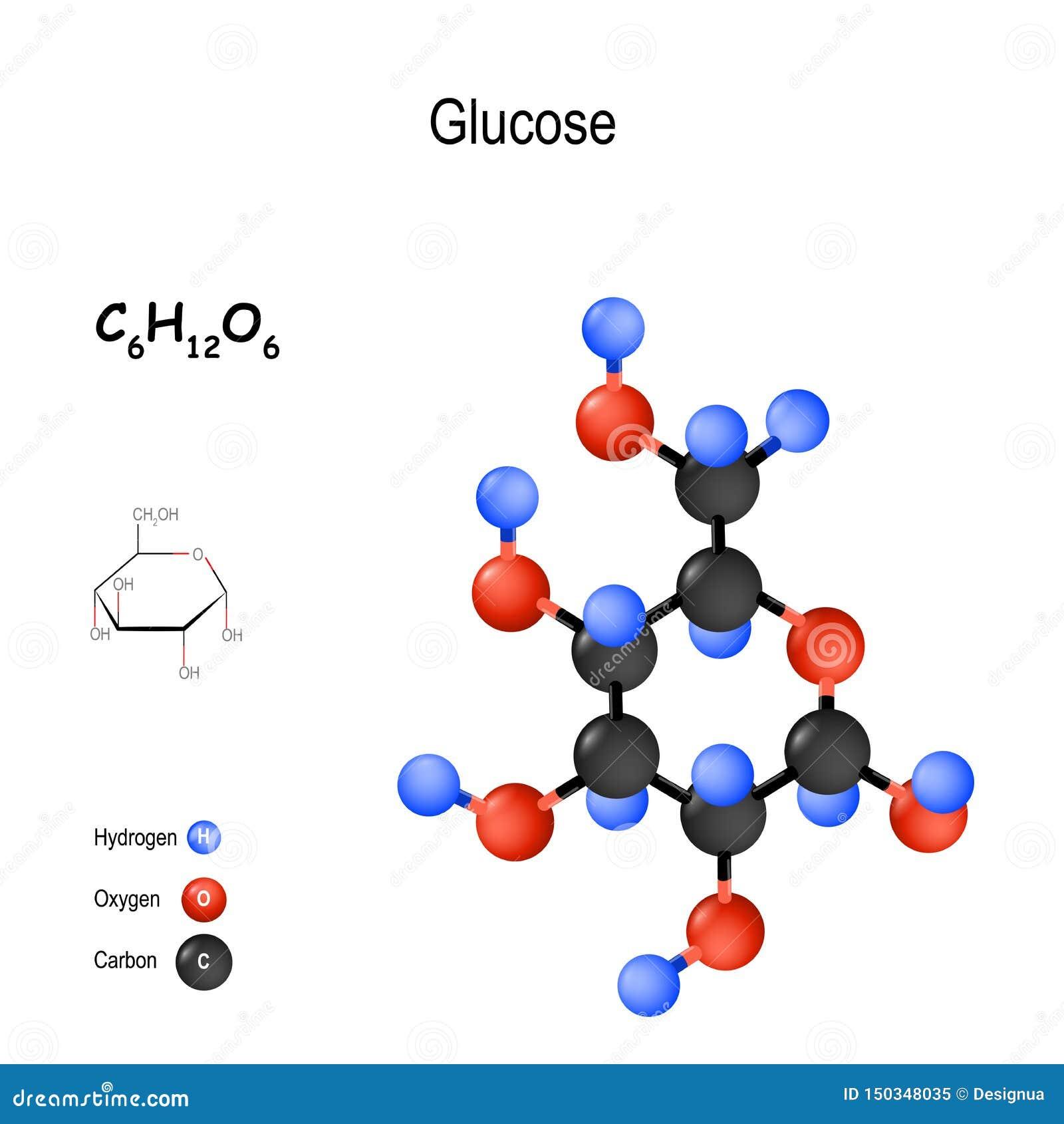 Sucrose Molecule With Chemical Formula Stock Image ...