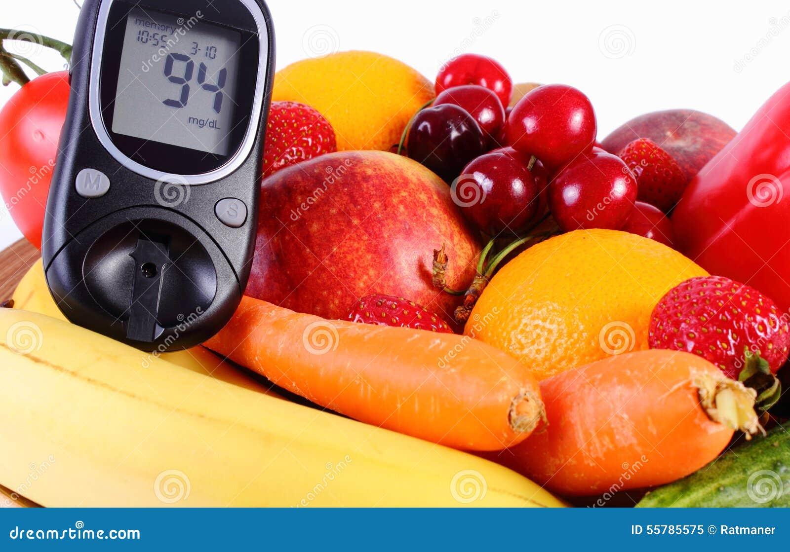 Фрукты и овощи для диабетиков