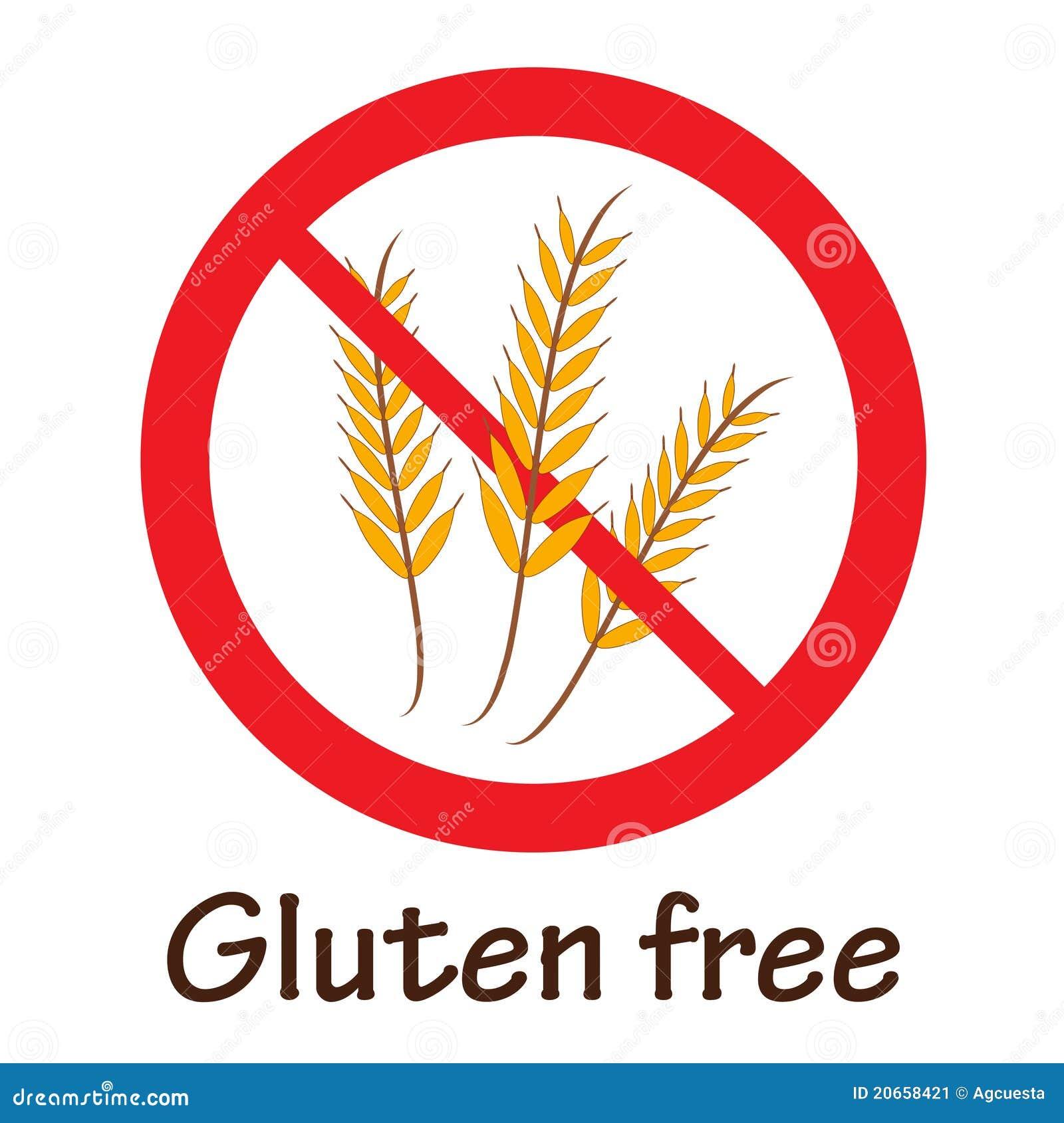Gluten Free Symbol Stock Vector Illustration Of Group 21697098