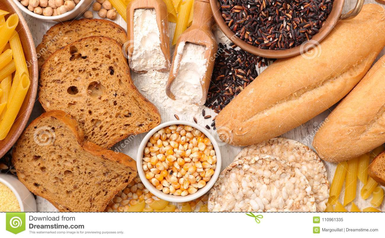 Gluten frigör mat