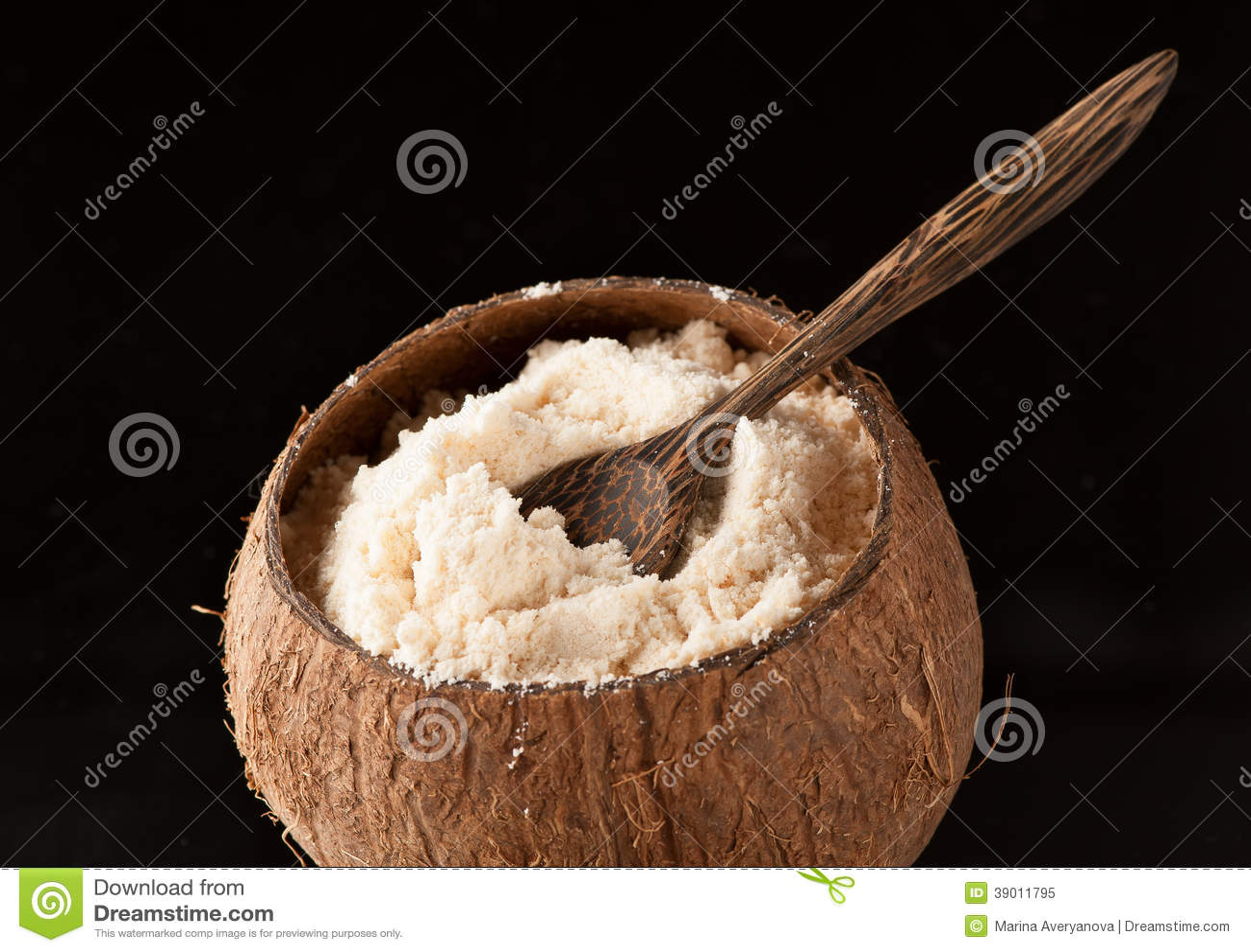 Gluten-Vrije kokosnotenbloem