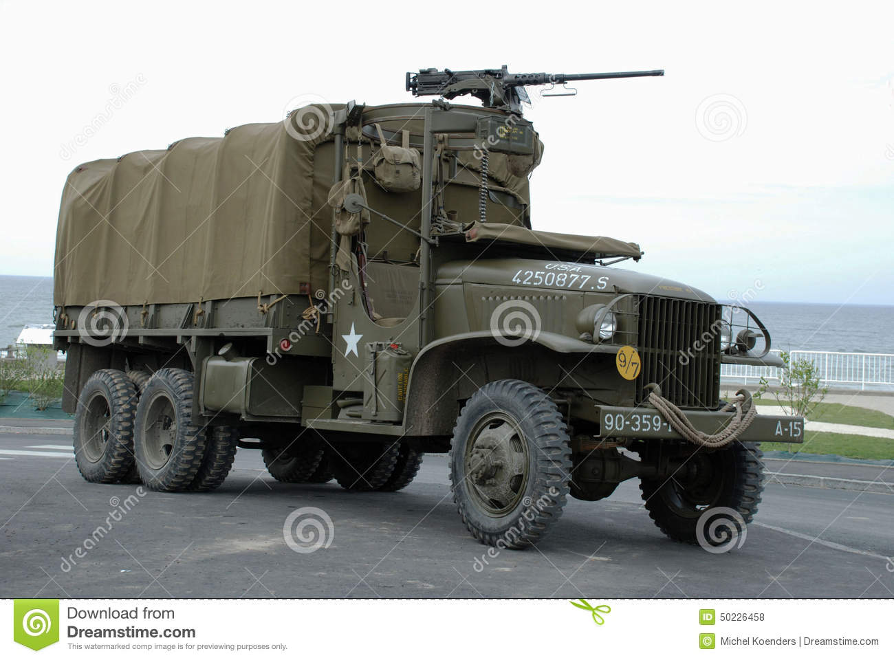 Gmc Cckw Truck 5 Editorial Stock Photo Image Of Army