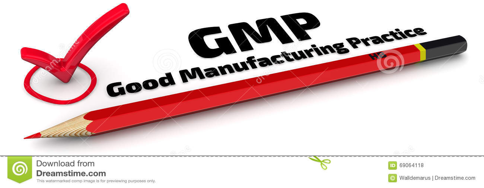 GMP Хорошая практика производства Метка