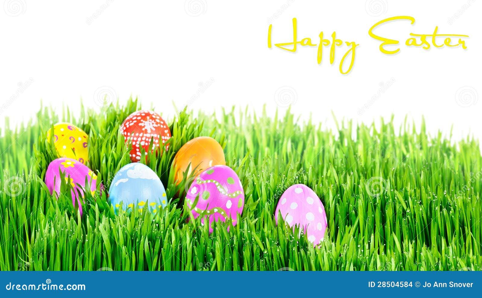 Gniazdeczko ręki malujący Wielkanocni jajka