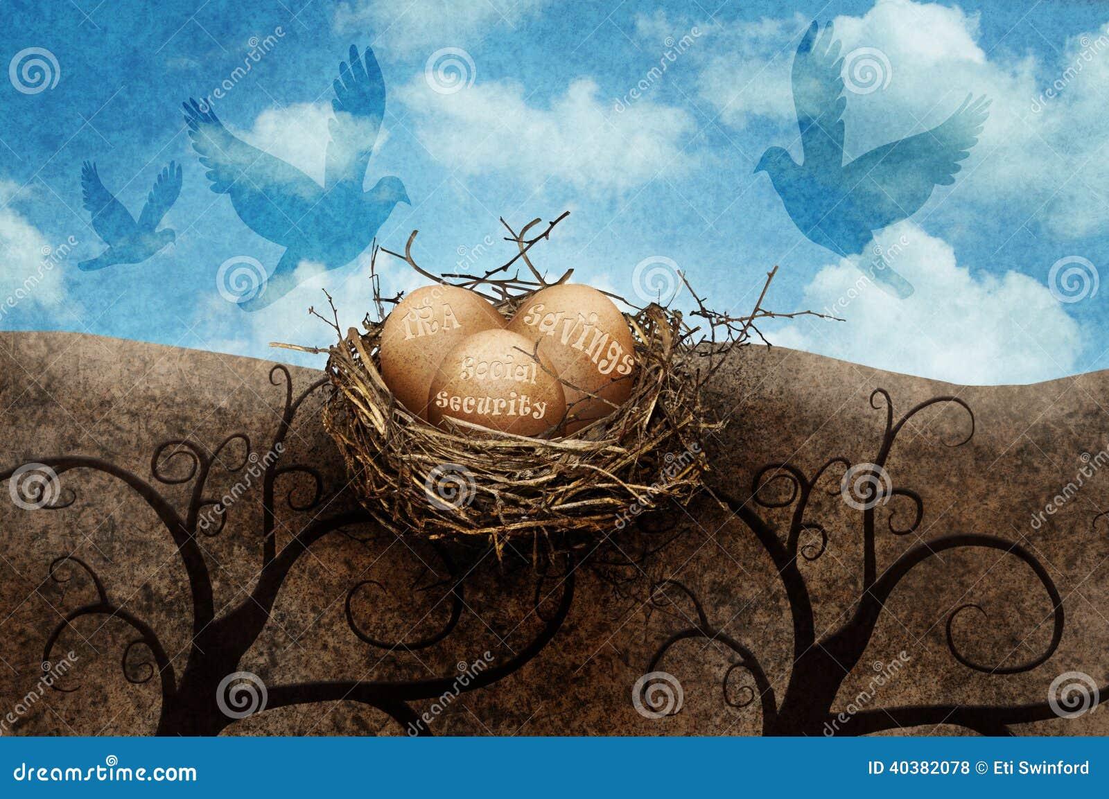 Gniazdowi jajka