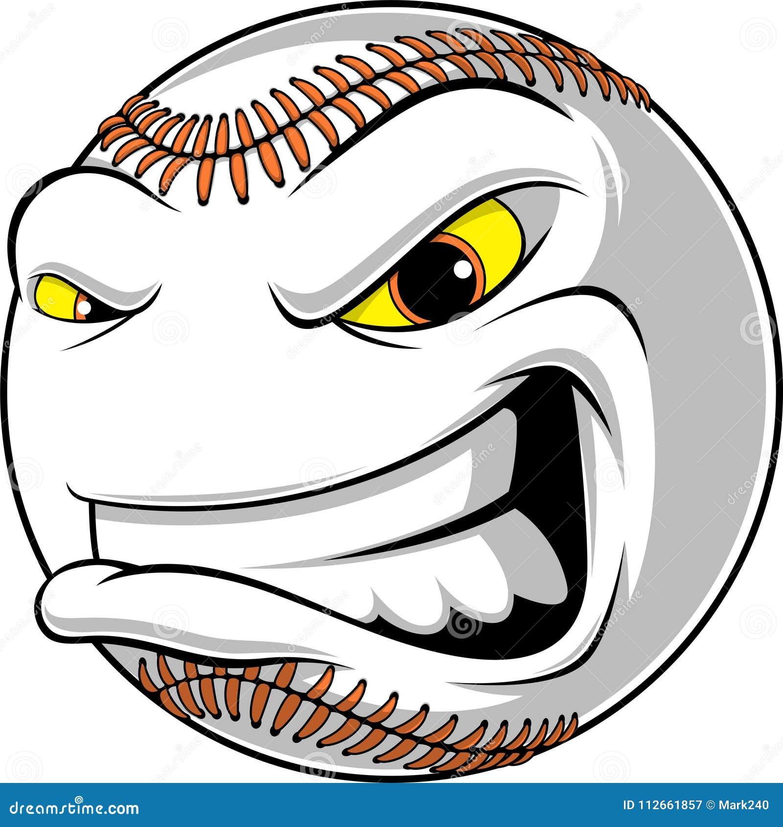 Gniewna piłka dla baseballa