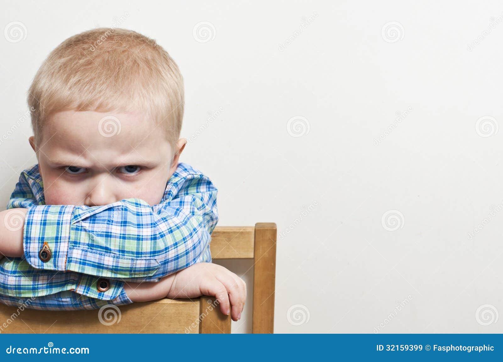 Gniewny dziecko