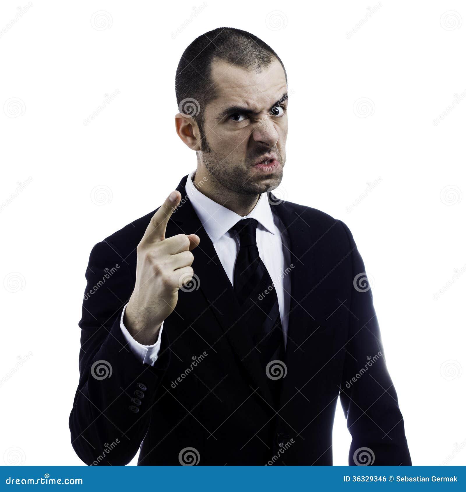 Gniewny szef