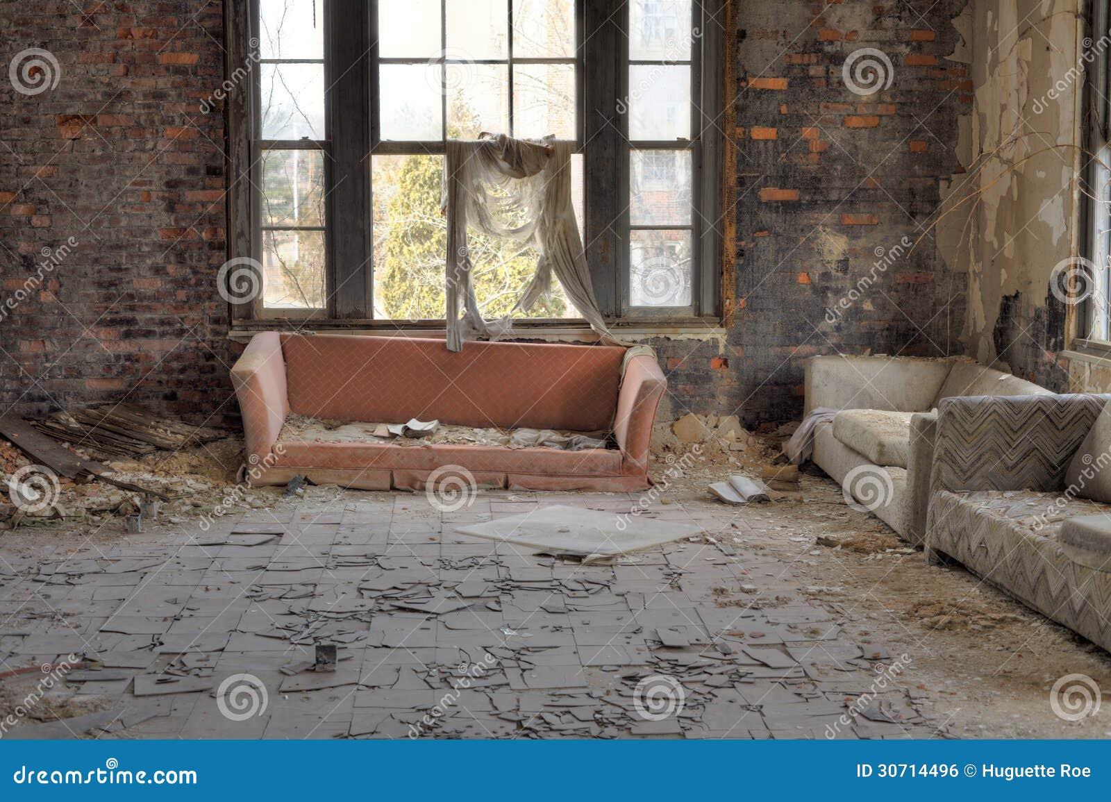 Gnijący żywy pokój