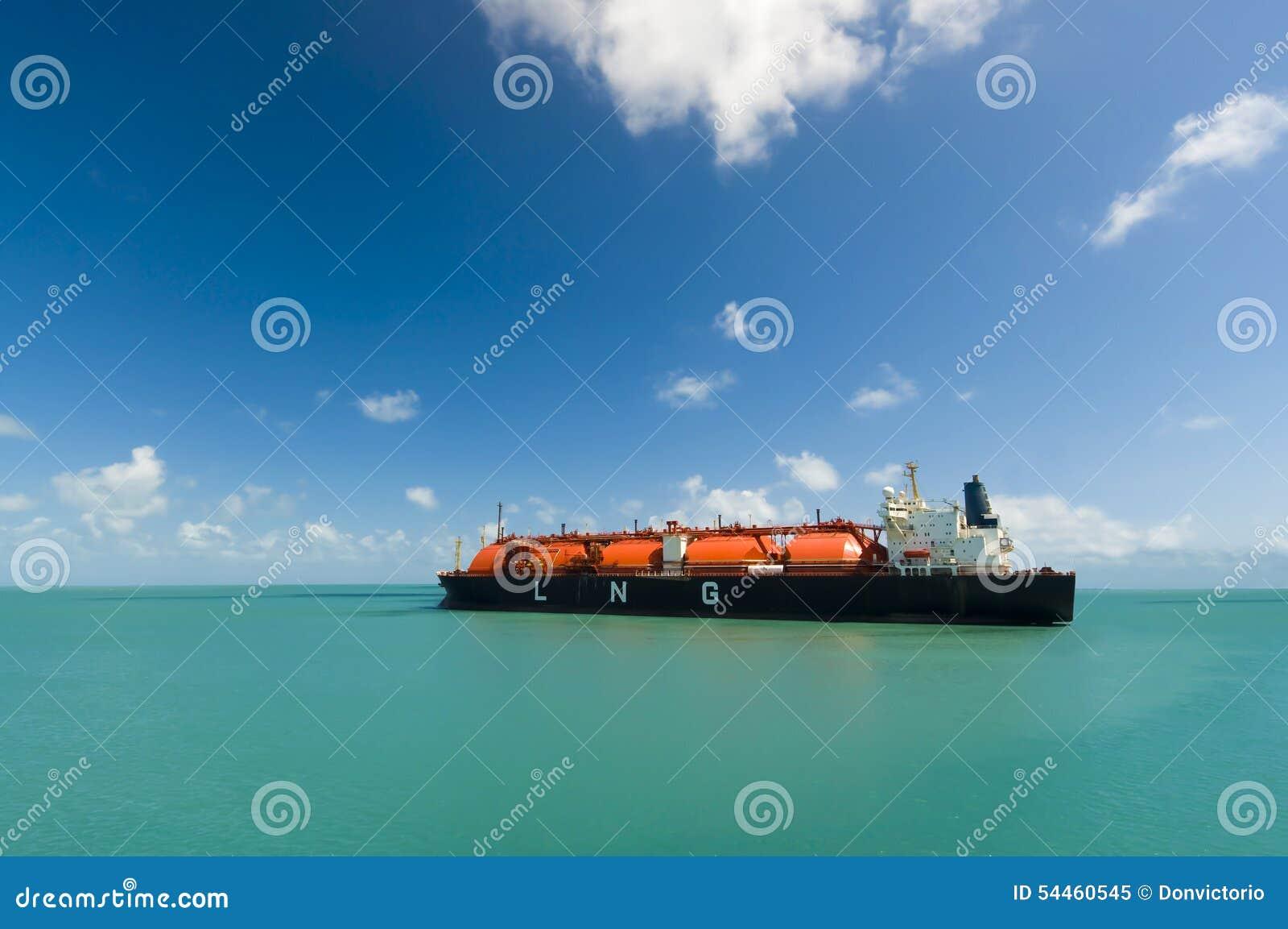 GNL de bateau-citerne de gaz naturel liquéfié de pétrole et d industrie du gaz
