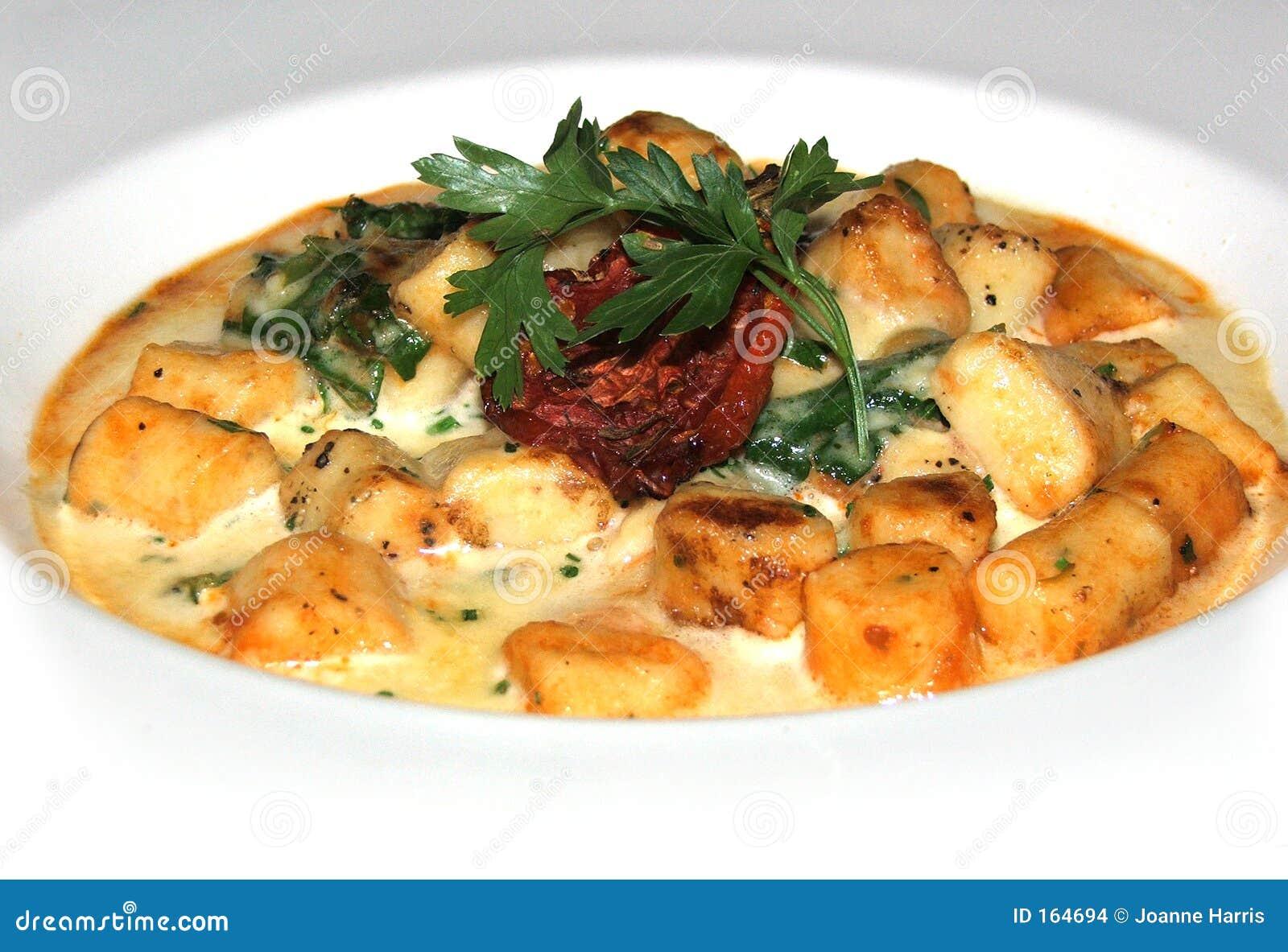 Gnocchi dish