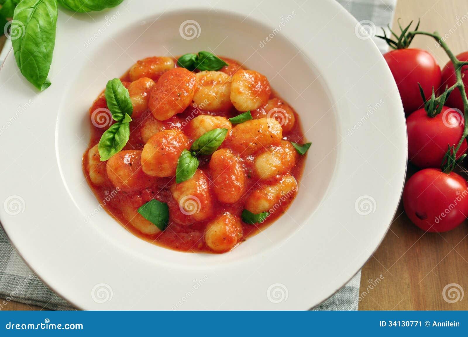 gnocchi with creme fraiche sage sauce gnocchi with tomato sauce ...