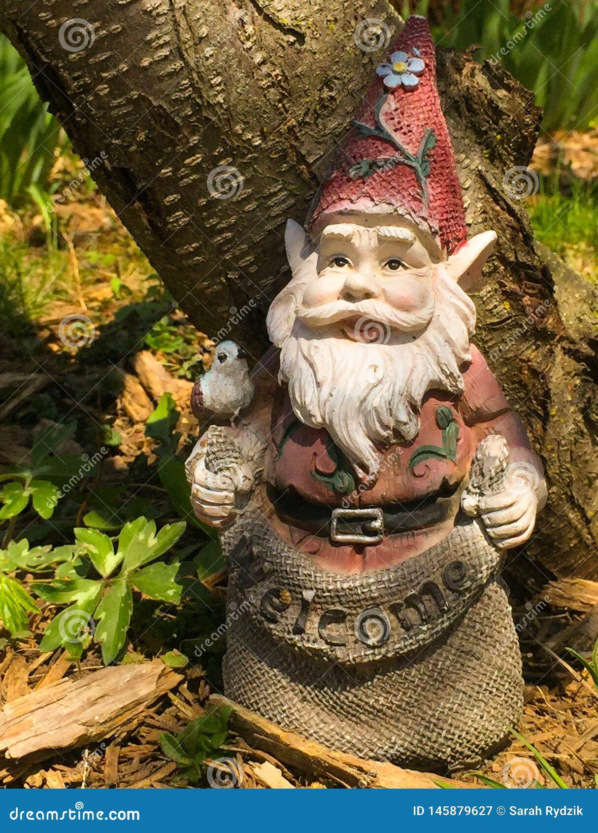 Gnome benvenuto