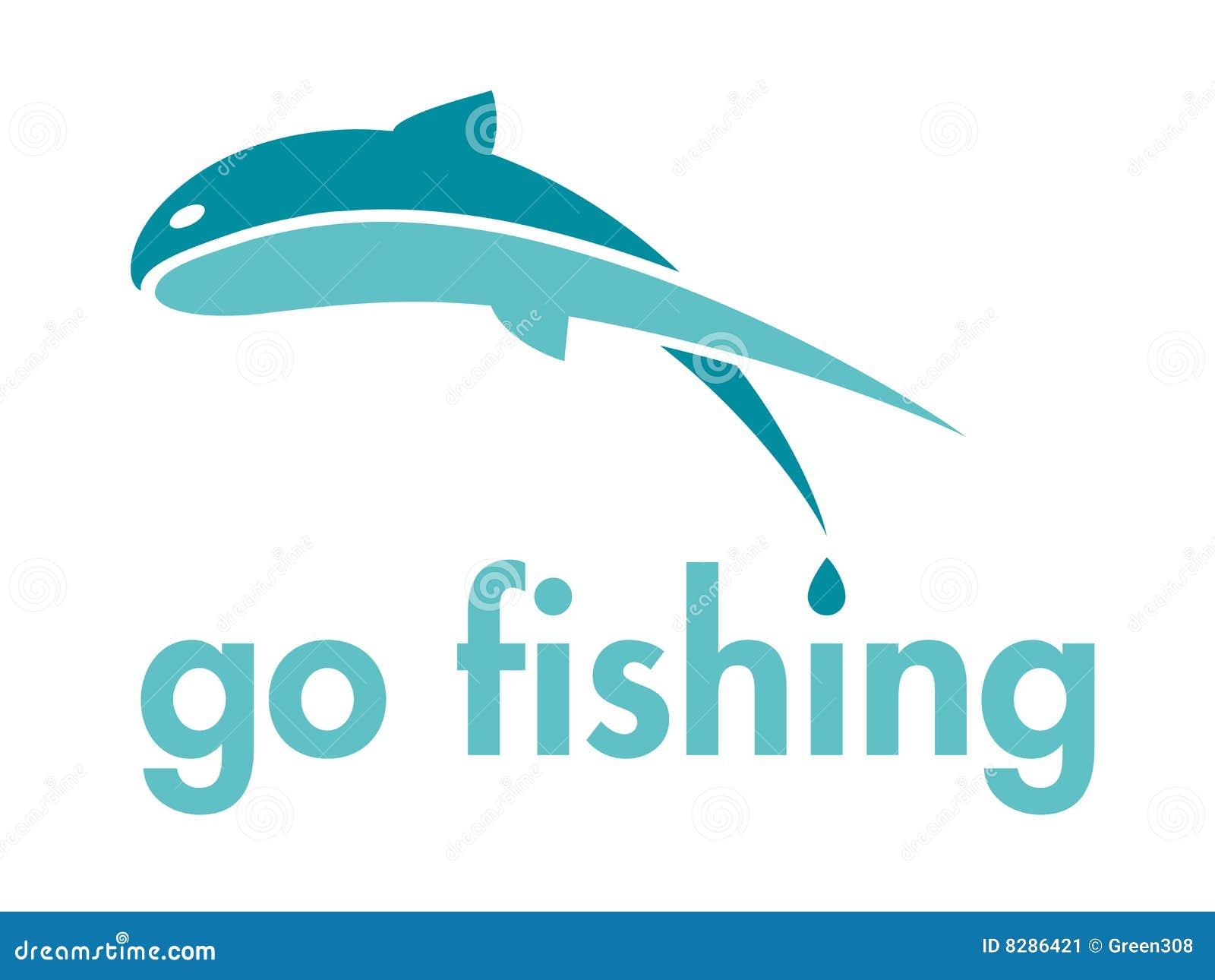Go fishing vector logo design element stock vector image for Go go fishing