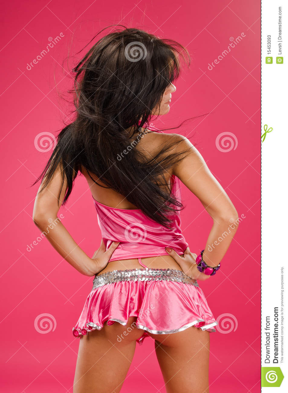 Download Go-go dancer stock image. Image of portrait, young, female - 15453093