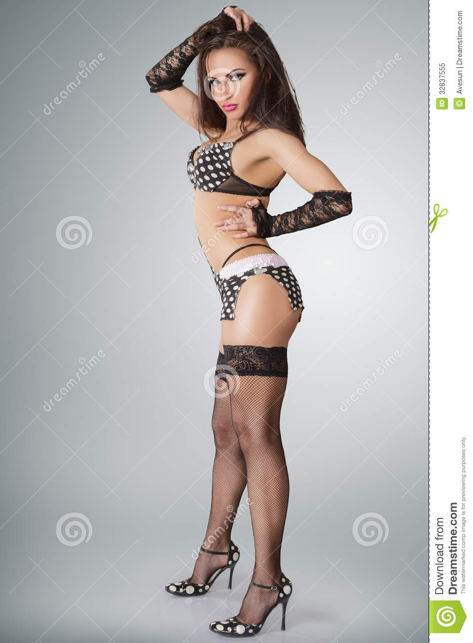Go-go Dancer Royalty Free Stock Photo - Image: 32837555
