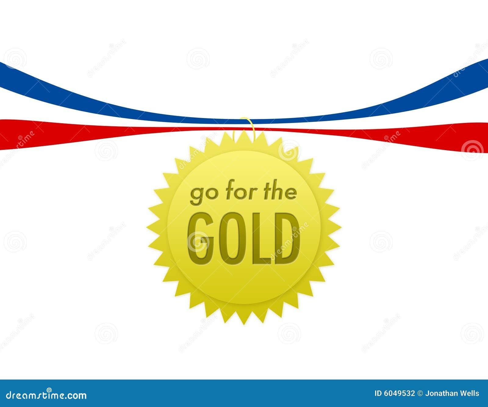 go for the gold stock illustration illustration of gold 6049532. Black Bedroom Furniture Sets. Home Design Ideas